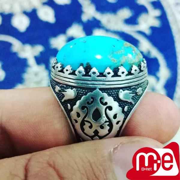 انگشتر فیروزه اصل کرمان