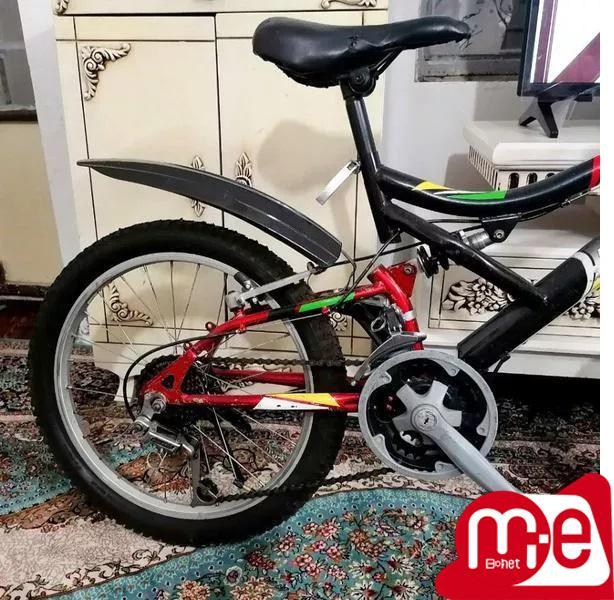 دوچرخه دنده ای سایز20 سالم ومرتب