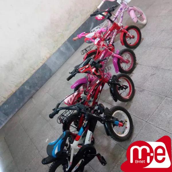 تعدادی دوچرخه سایز 12 تا 26 استوک