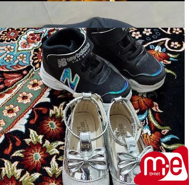 دوجفت کفش دخترانه 25