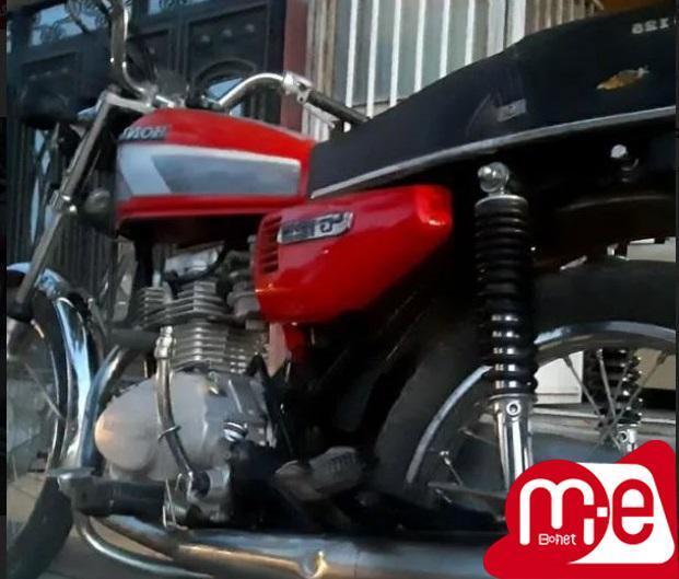 موتور هندا سیمرغ ۸۸ تمیز در حد