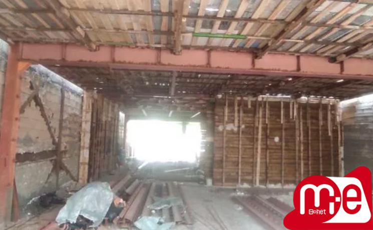 قالب بندی سقف کامپوزیت و دیوار برشی