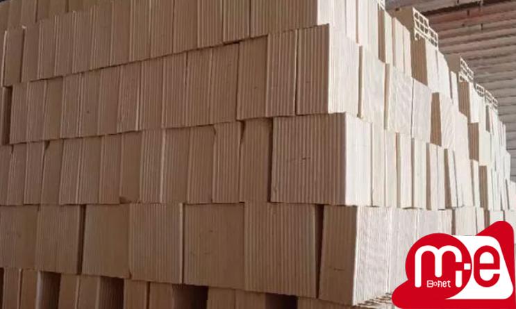 پخش متنوع مصالح ساختمانی اجر سفال بلوکه سه سوراخ