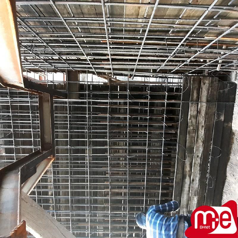 قالب بندی سقف کامپوذیت و دیوار برشی