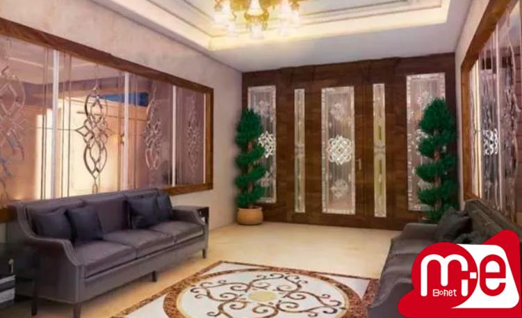 قصرمجلل/170متر/قلب الهیه/مجموعه آبی/روف گاردن
